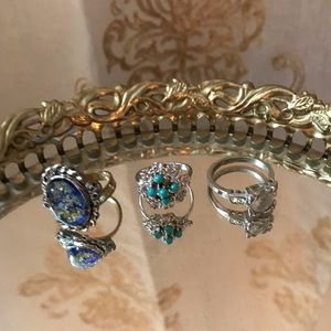 Jewelry - Silver Costume Ring Lot 🔗